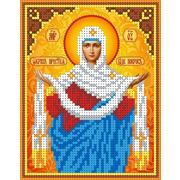 """Канва/ткань с нанесенным рисунком Каролинка """"Покров Пресвятой Богородицы"""""""