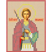 """Канва/ткань с нанесенным рисунком Каролинка """"Святой Георгий"""""""
