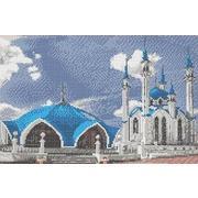 """Ткань с рисунком для вышивки бисером Каролинка """"Мечеть Кул Шариф"""""""