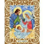 """Ткань с рисунком для вышивки бисером Божья коровка """"Святое Семейство"""""""