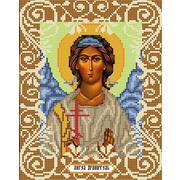 """Ткань с рисунком для вышивки бисером Божья коровка """"Ангел Хранитель"""""""