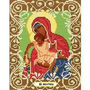 """Канва/ткань с нанесенным рисунком Божья коровка """"Богородица Милостливая"""""""