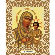 """Канва/ткань с нанесенным рисунком Божья коровка """"Богородица Иерусалимская"""""""