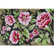 """Набор для вышивания крестом Luca-S коврика """"Цветы"""""""