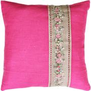 """Набор для вышивания крестом Luca-S подушка """"Гирлянда из роз"""""""