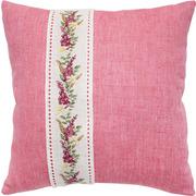 """Набор для вышивания крестом Luca-S подушка """"Цветочная гирлянда на канвовой ленте"""""""