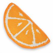 """Набор для вышивания крестом Luca-S подушка """"Апельсин"""""""