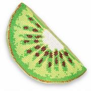 """Набор для вышивания крестом Luca-S подушка """"Киви"""""""