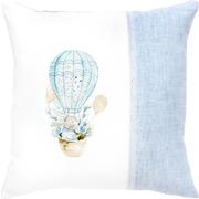 """Набор для вышивания крестом Luca-S подушки """"Кролик на воздушном шаре"""""""
