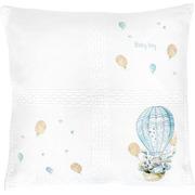 """Набор для вышивания крестом Luca-S подушка """"Кролик на воздушном шаре"""""""