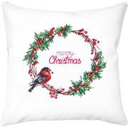 """Набор для вышивания крестом Luca-S подушки """"Счастливого Рождества"""""""