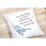 """Набор для вышивания крестом Luca-S подушки """"Певчая птичка"""""""