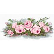 """Набор для вышивания крестом Luca-S """"Романтические розы"""""""