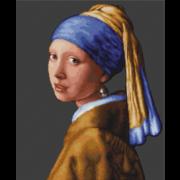 """Гобелен Luca-S """"Девушка с жемчужиной"""""""