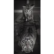 """Набор для выкладывания мозаики Алмазная живопись """"Тигр внутри"""""""