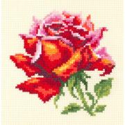 """Набор для вышивания крестом Чудесная игла """"Красная роза"""""""