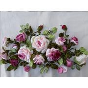 """Набор для вышивания лентами Любава """"Розовые розы"""""""