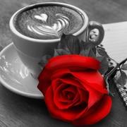 """Набор для выкладывания мозаики Алмазная живопись """"Роза и кофе"""""""
