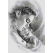"""Канва/ткань с нанесенным рисунком Каролинка """"Мать и ребенок"""""""