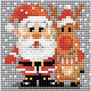 """Набор для выкладывания мозаики Риолис """"Санта-Клаус"""""""
