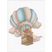 """Набор для вышивания крестом Овен """"На воздушном шаре"""""""