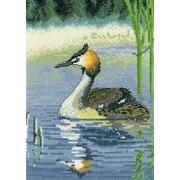 """Набор для вышивания крестом Heritage """"Водяная птица"""""""