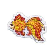 """Набор для вышивания крестом Овен """"Значок.Рыбка"""""""