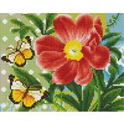 """Набор для выкладывания мозаики Белоснежка """"Бабочка и цветок"""""""