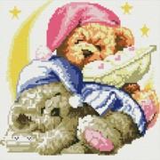"""Набор для выкладывания мозаики Белоснежка """"Два медвежонка"""""""