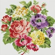 """Набор для выкладывания мозаики Белоснежка """"Вальс цветов"""""""
