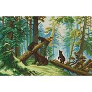 """Набор для вышивания крестом Белоснежка """"Утро в сосновом лесу"""""""