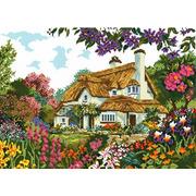 """Набор для вышивания крестом Белоснежка """"Цветы у дома"""""""