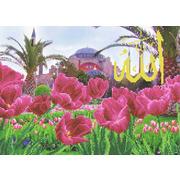 """Канва/ткань с нанесенным рисунком Каролинка """"Тюльпаны у мечети Айя-Софии"""""""