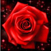"""Набор для выкладывания мозаики Алмазная живопись """"Сверкающая роза"""""""