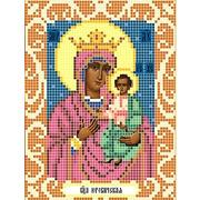 """Канва/ткань с нанесенным рисунком Божья коровка """"Богородица Юровичская"""""""
