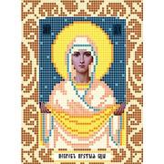 """Канва/ткань с нанесенным рисунком Божья коровка """"Богородица Покрова"""""""