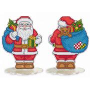 """Набор для вышивания крестом Овен """"Санта-Клаус"""""""