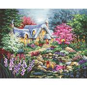 """Набор для вышивания крестом Letistitch """"Cottage Pond"""""""