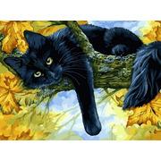 """Набор для раскрашивания Белоснежка """"Осенний кот"""""""