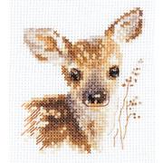 """Набор для вышивания крестом Алиса """"Животные в портретах. Олененок"""""""