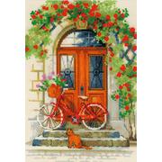 """Набор для вышивания крестом Риолис """"Дверь в Италию"""""""