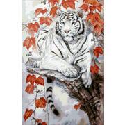 """Набор для выкладывания мозаики Паутинка """"Восточный тигр"""""""
