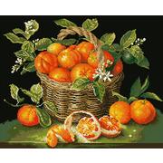 """Набор для выкладывания мозаики Паутинка """"Сочные апельсины"""""""