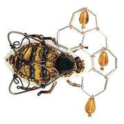 """Набор для вышивания бисером Crystal Art """"Мёд в сотах"""""""