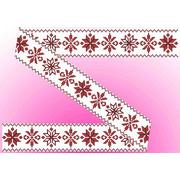 """Канва/ткань с нанесенным рисунком Каролинка """"Декор. Рисунок на водорастворимом флизелине"""""""