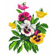 """Канва/ткань с нанесенным рисунком Каролинка """"Услада сердца"""""""