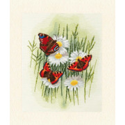 """Набор для вышивания крестом Золотое Руно """"Волшебные бабочки"""""""