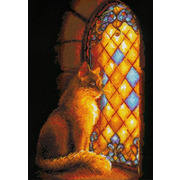 """Набор для вышивания крестом Риолис """"Хранительница замка"""""""
