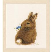 """Набор для вышивания крестом LANARTE """"Кролик"""""""