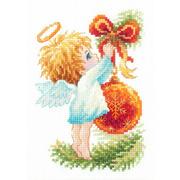 """Набор для вышивания крестом Чудесная игла """"Ангел Рождества"""""""